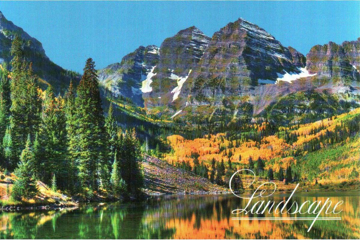 """Календарь малый """"Озеро в горах"""""""