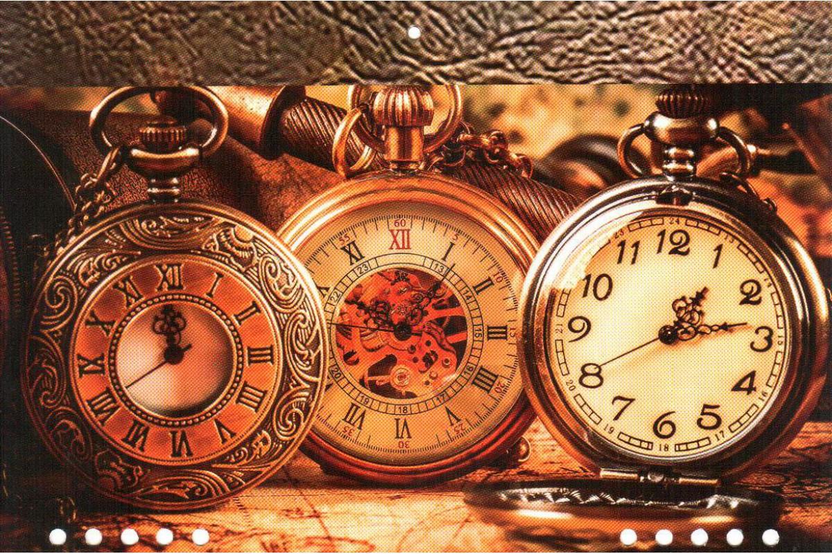 """Календарь малый """"Часы"""""""