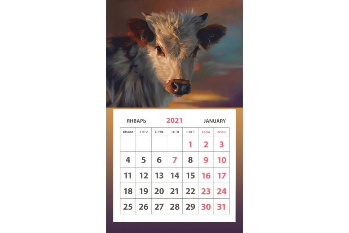 Календарь на магните - Символ Года #5