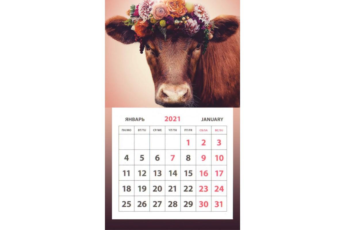 Календарь на магните - Символ Года #9