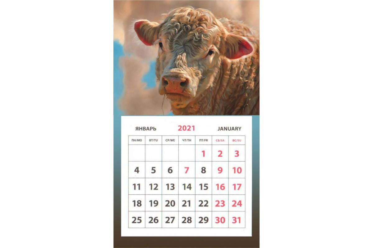 Календарь на магните - Символ Года #8