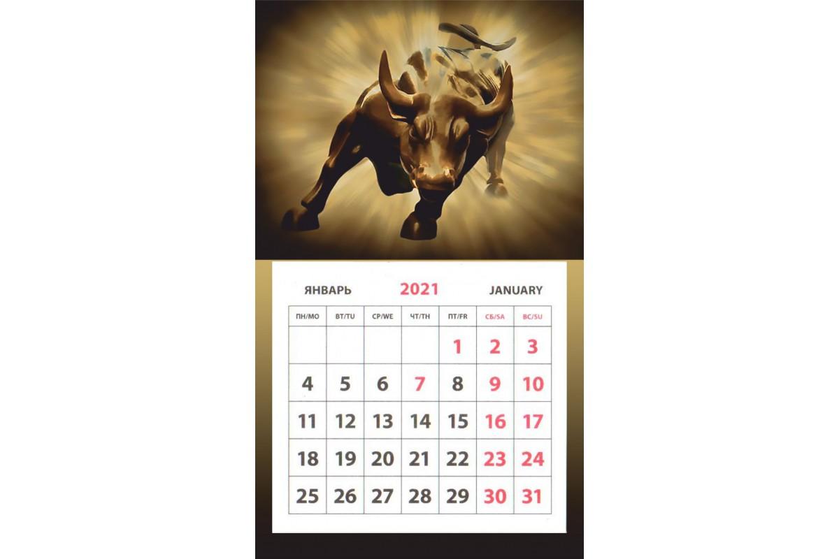 Календарь на магните - Символ Года #7